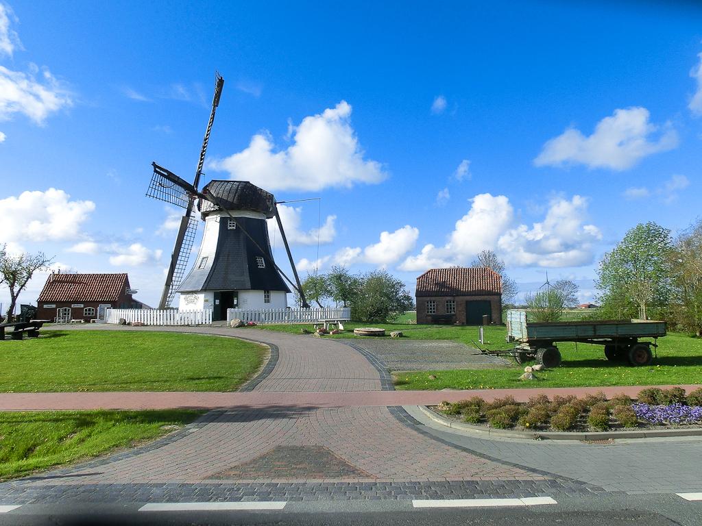 Windmühle Werdum (Erdholländer)